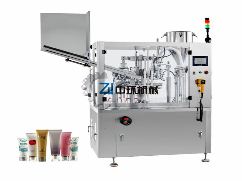 ZHF-100YC  洗面奶灌装封尾机